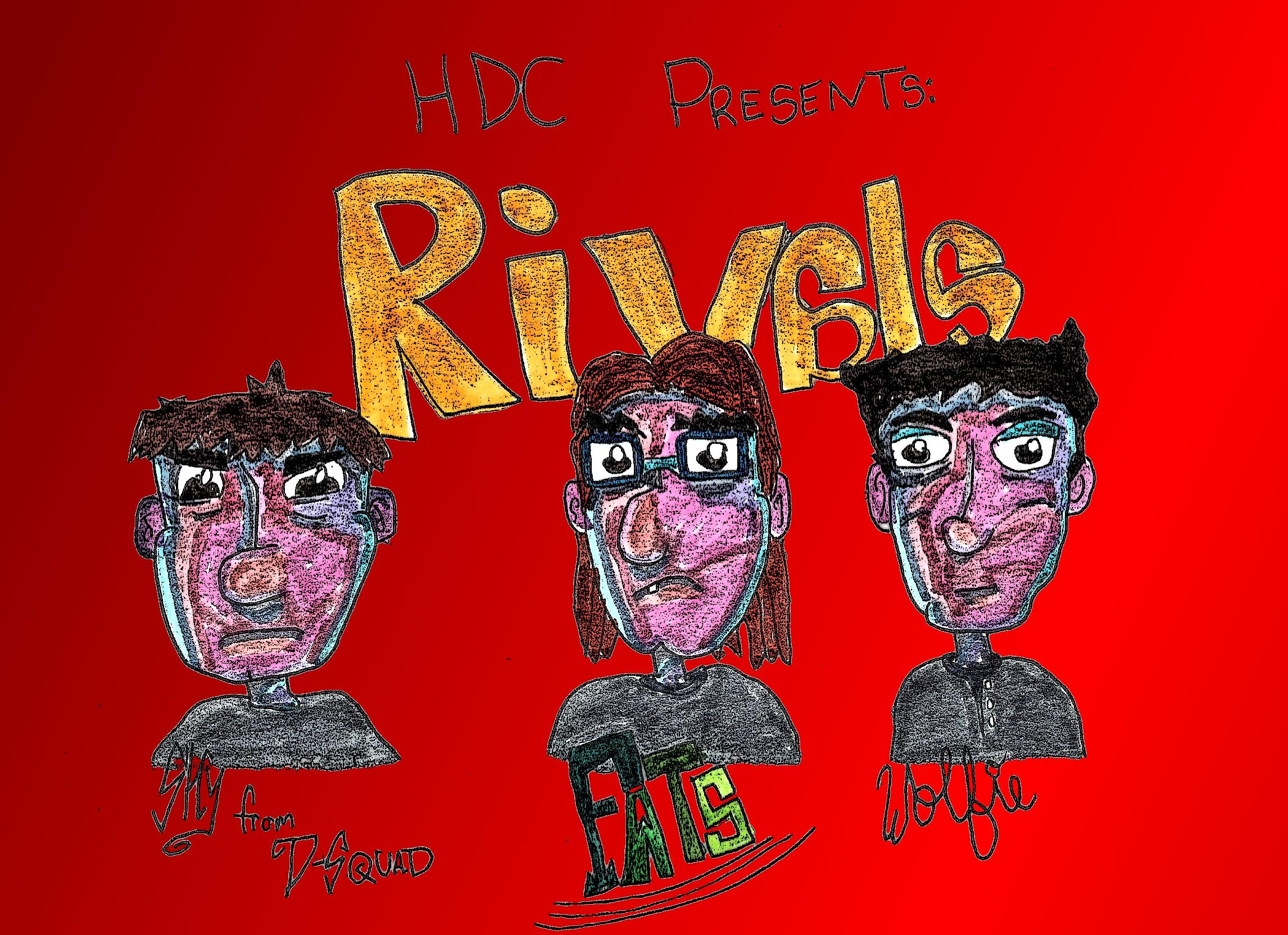 -HDC- Rivals Song Art