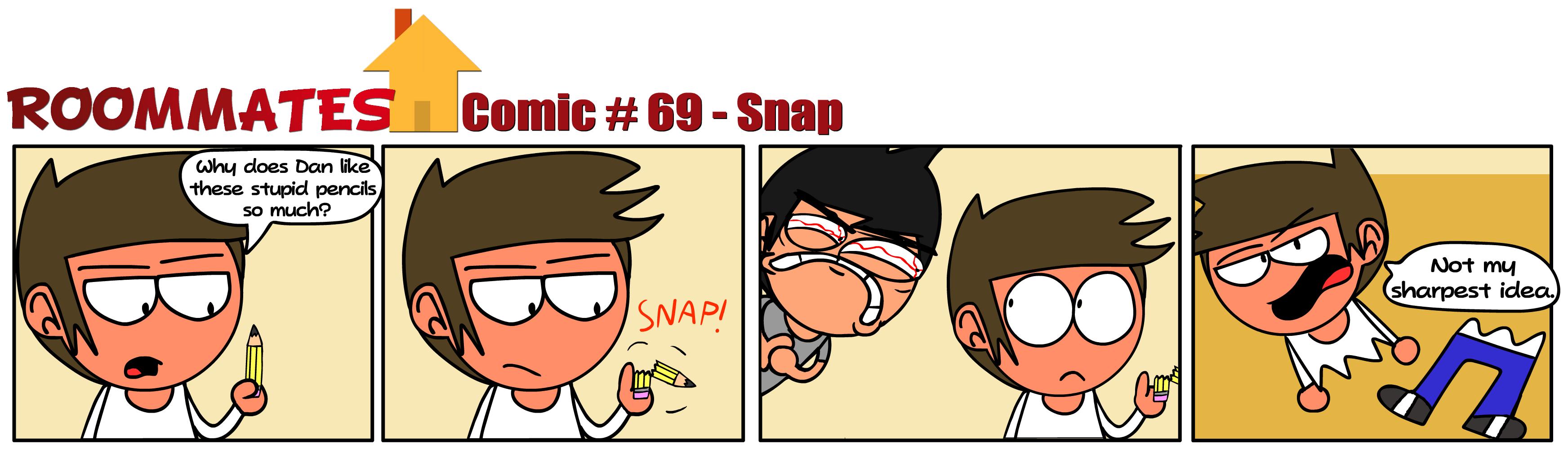 Roommates - Snap (Comic #69)