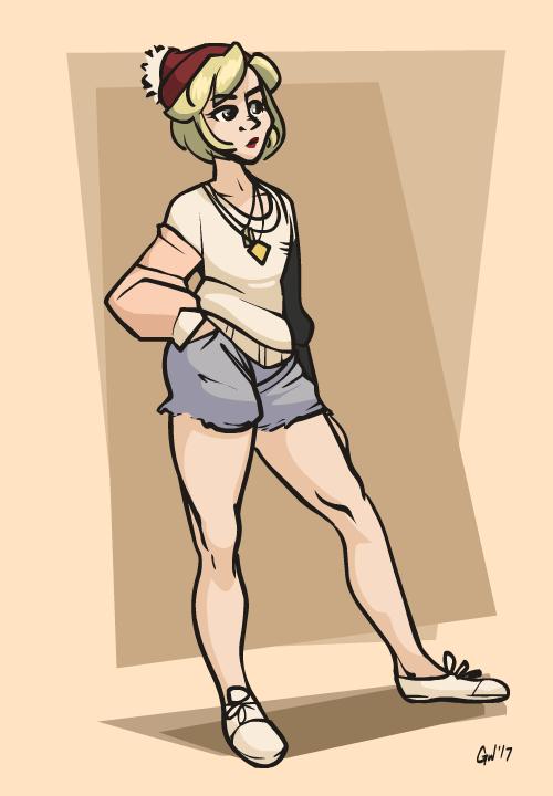 Kelly Posed