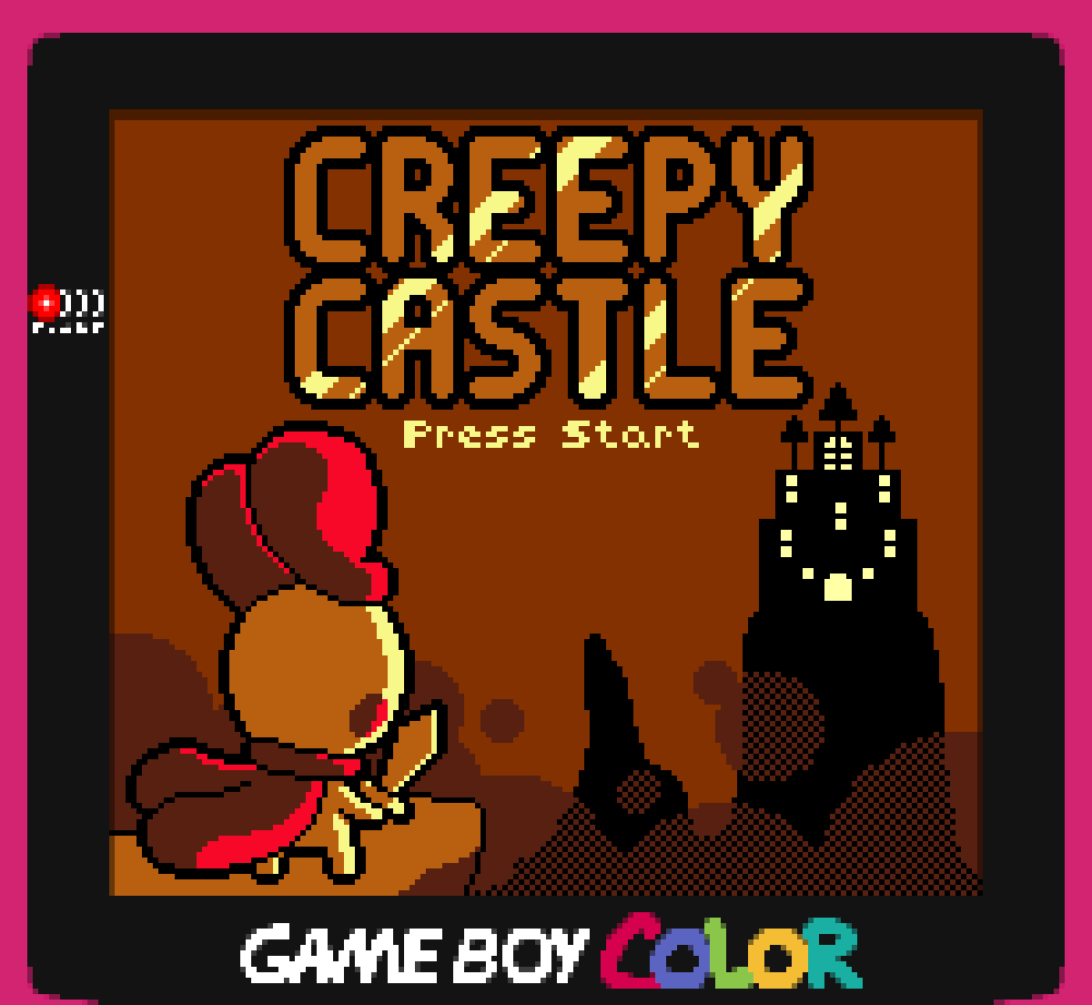 Creepy Castle COLOR