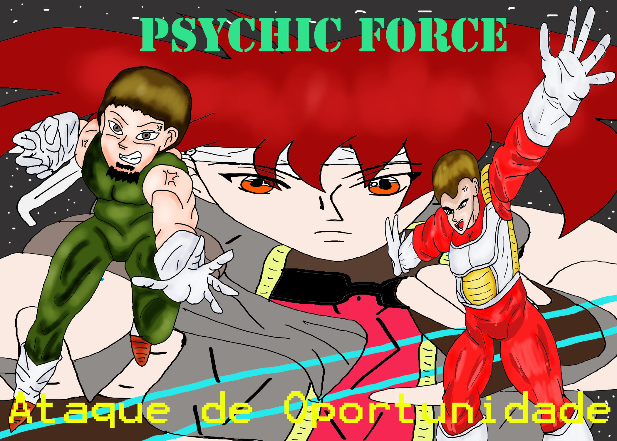 Psychic Force at de oportunidade