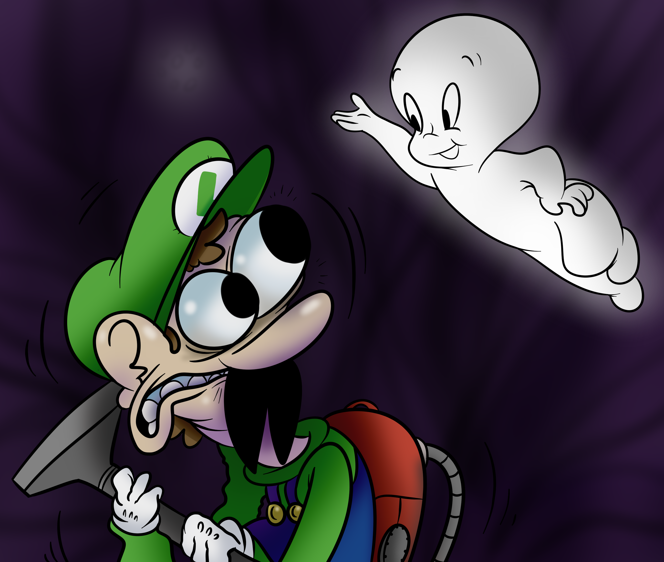 Luigi and the Friendly Ghost