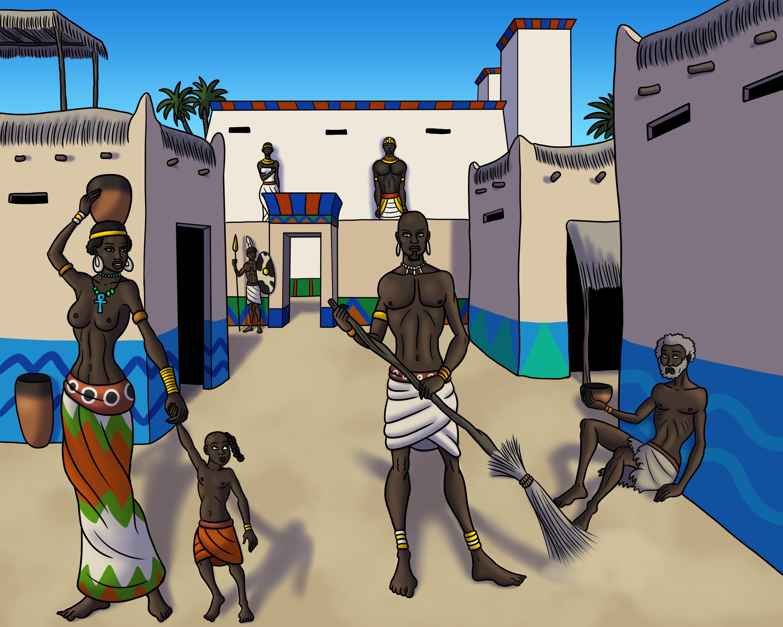 Kerma Street Scene