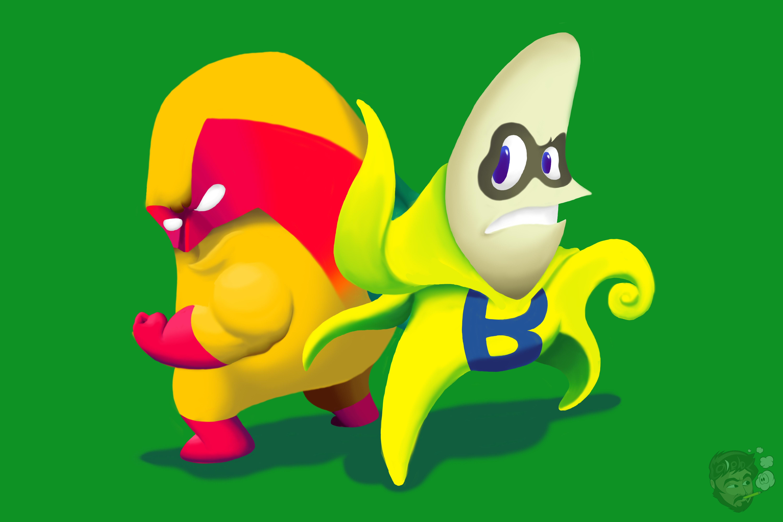Man-go and Ba-man-a