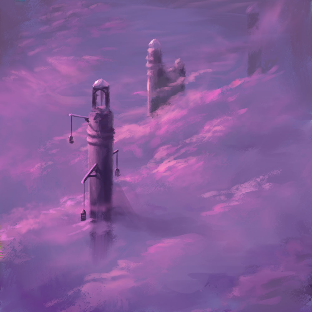 Sky prison - 30 minute speed painting