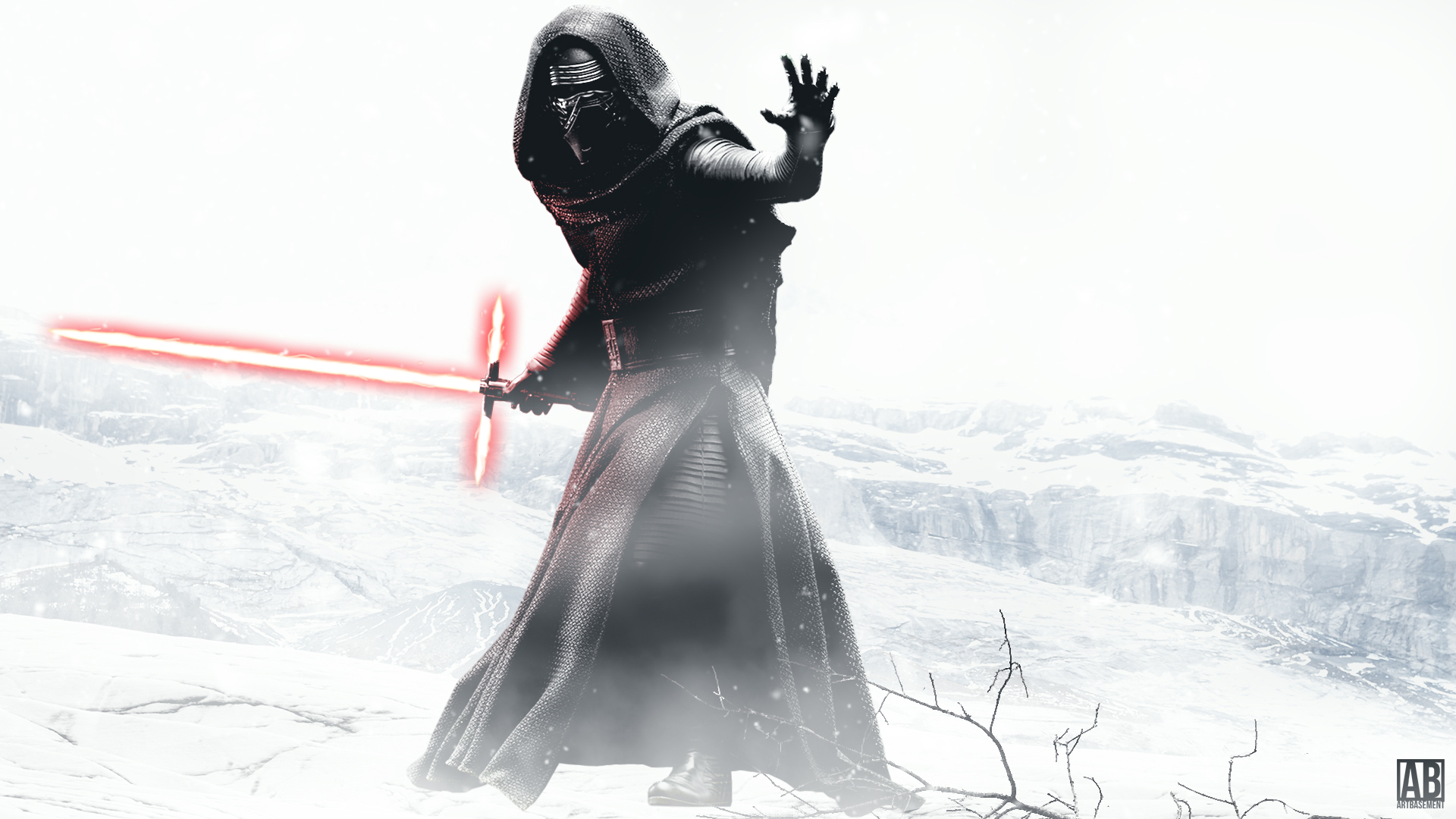Kylo Ren - HDTV Wallpaper