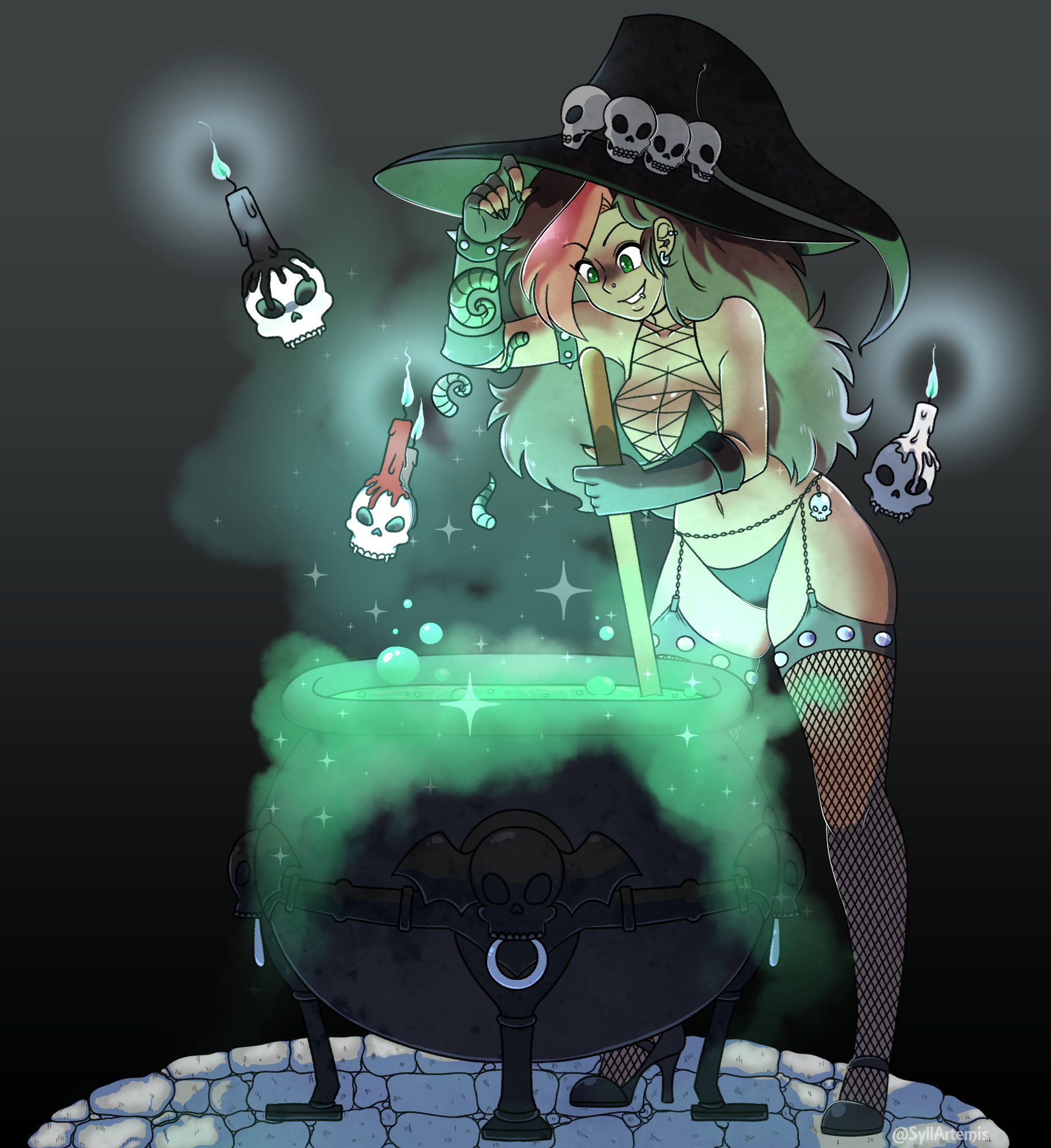 THISISHALLOWEEN Commission
