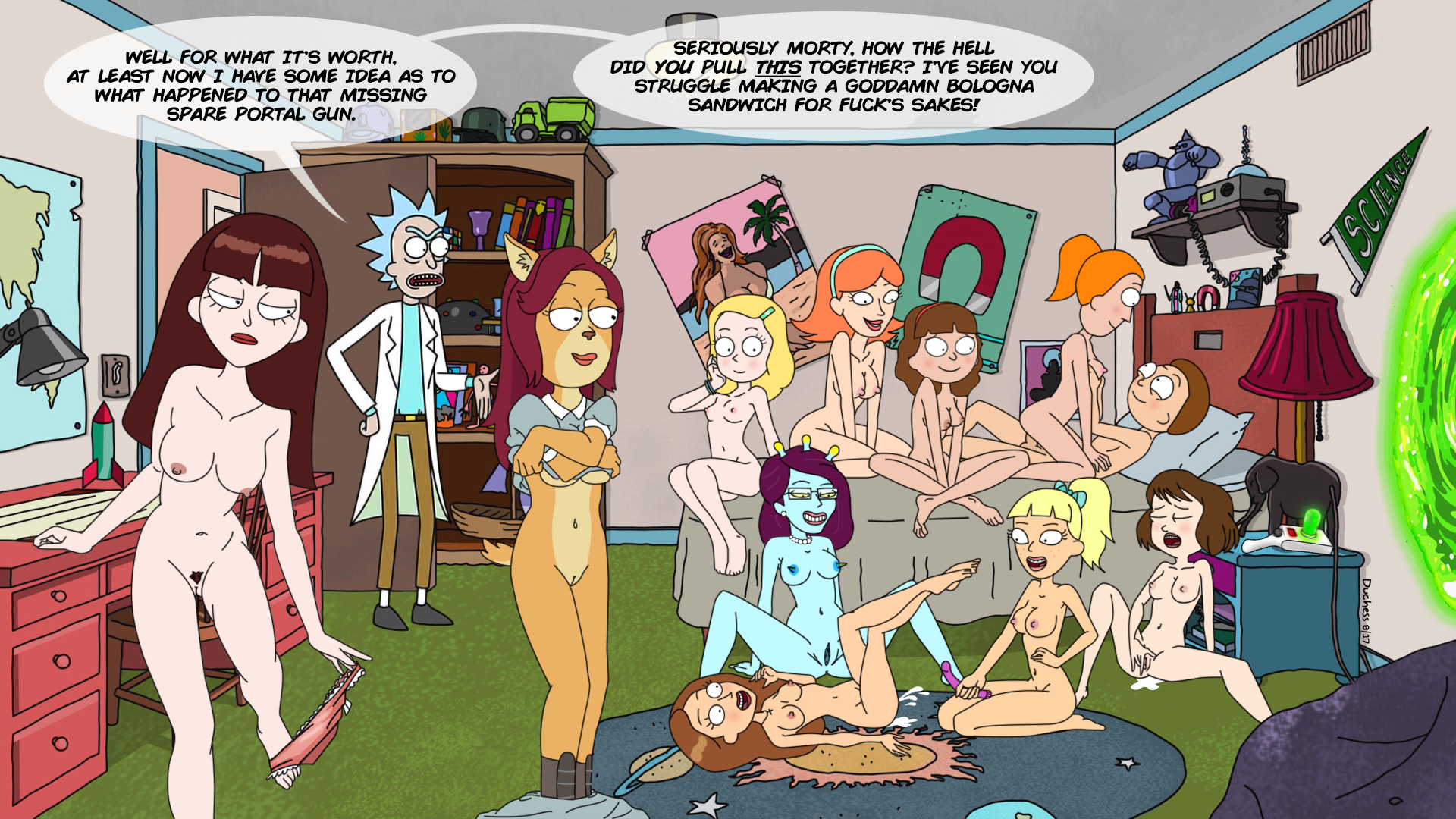 Rick & Morty: Morty's Orgy