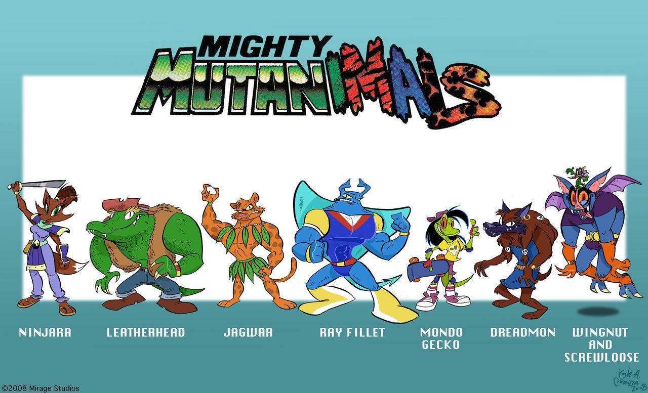 Mighty Mutanimals