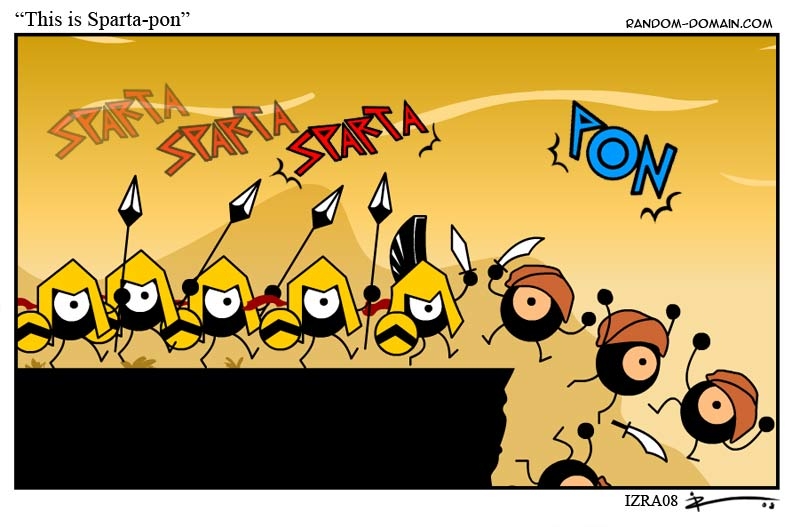 this is Sparta-pon