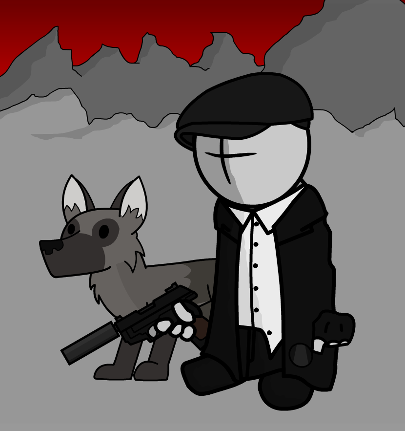 Mr. Musikant and dog