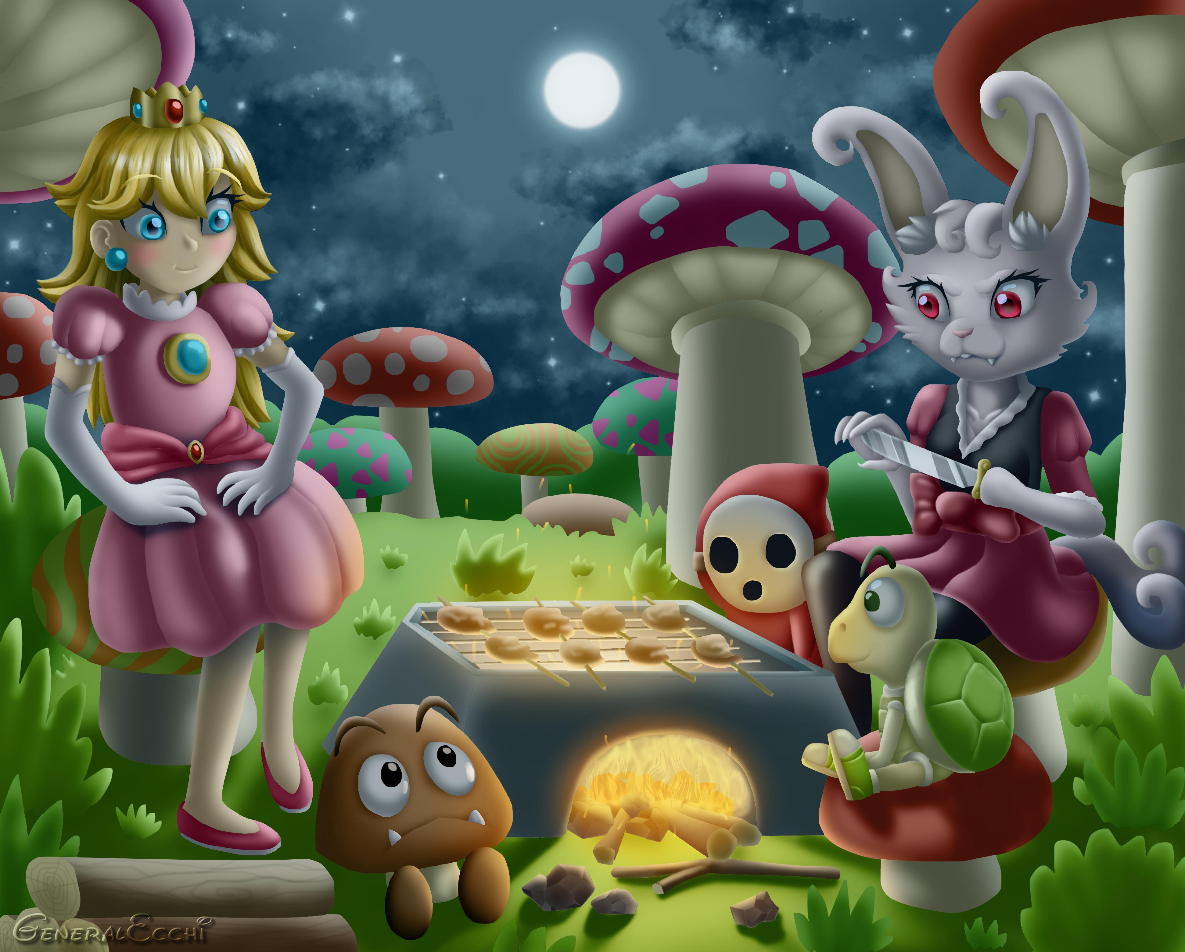 Mushroom Grill