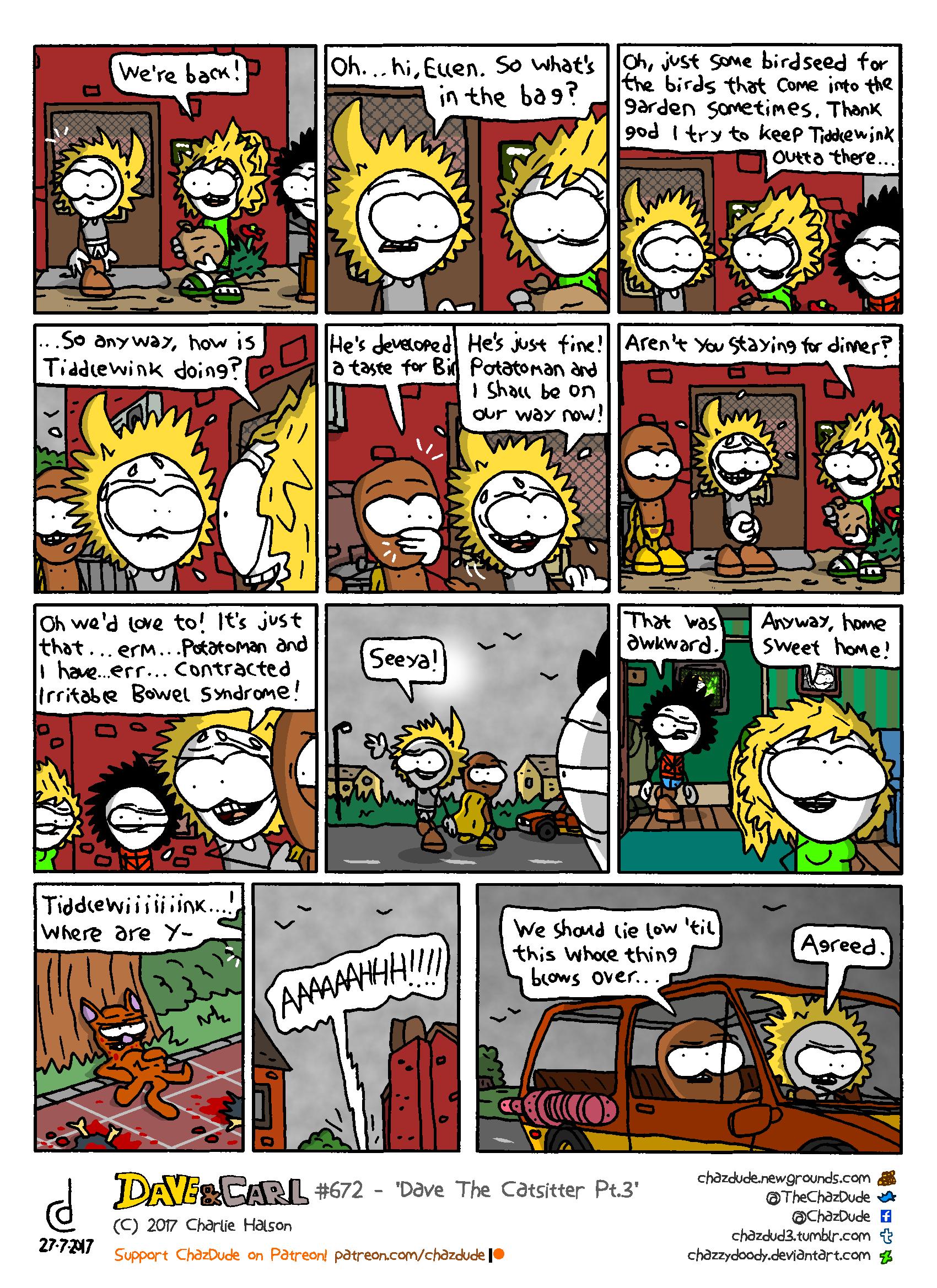 Dave The Catsitter Pt.3