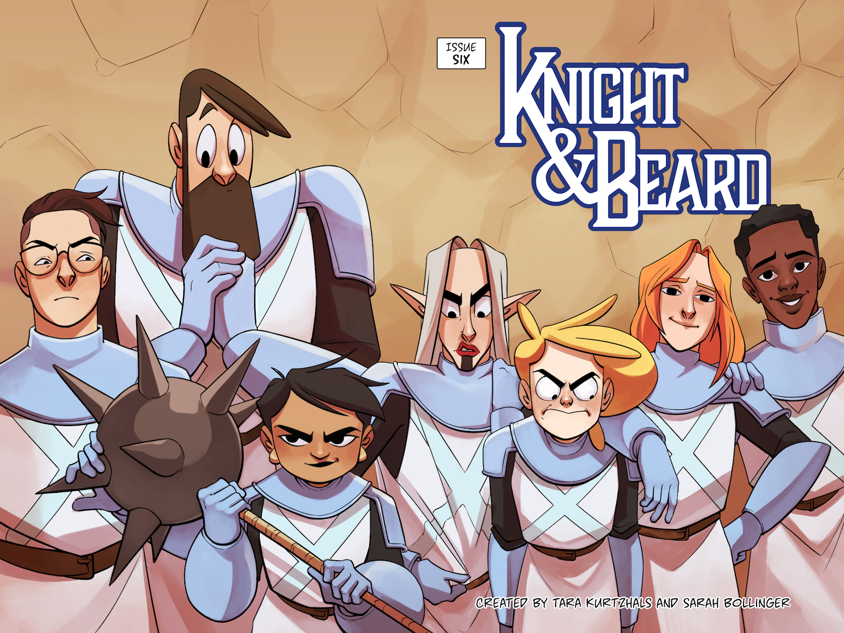 Knight & Beard 6 Cover