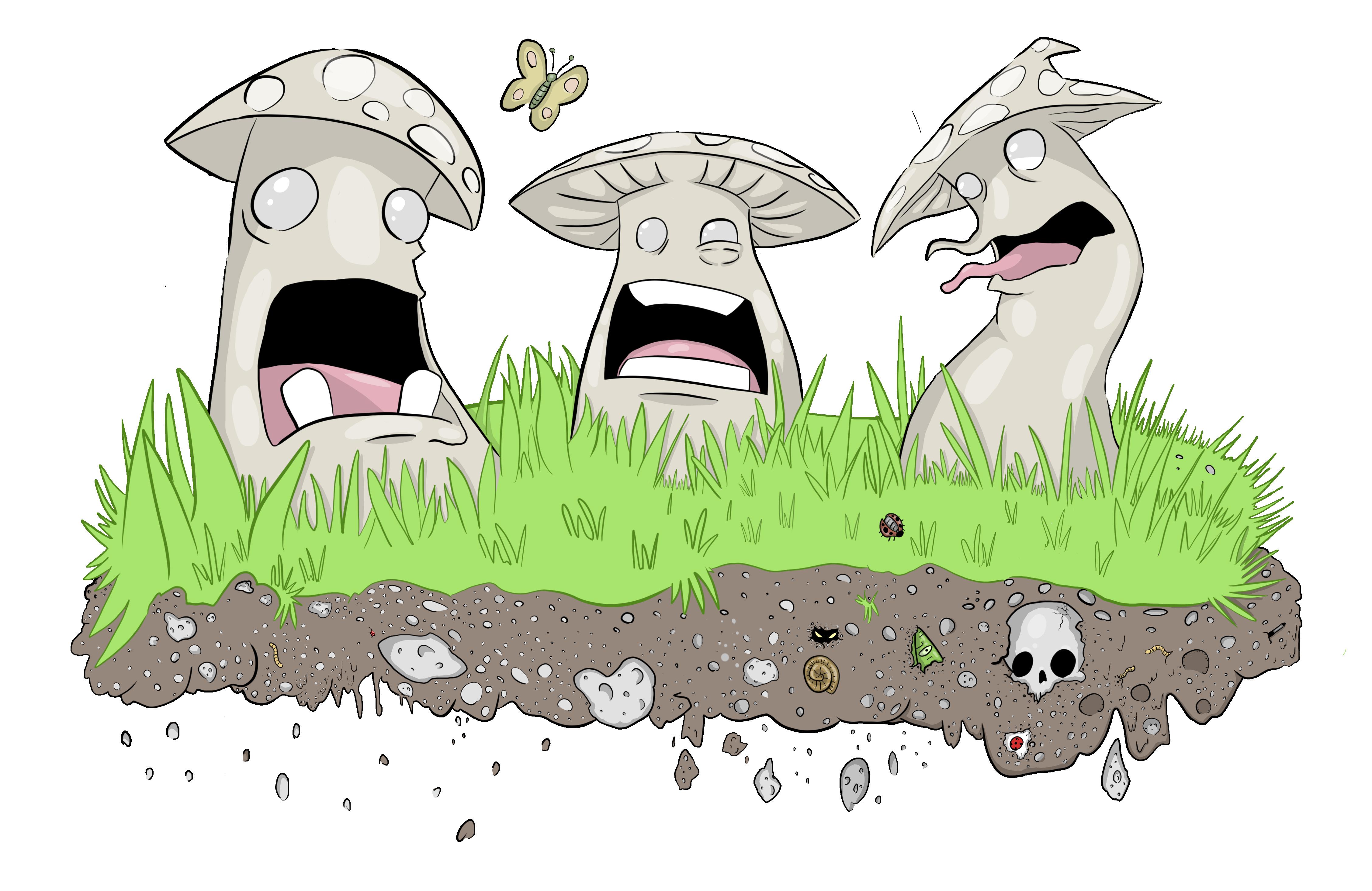 The Three Mushrooms