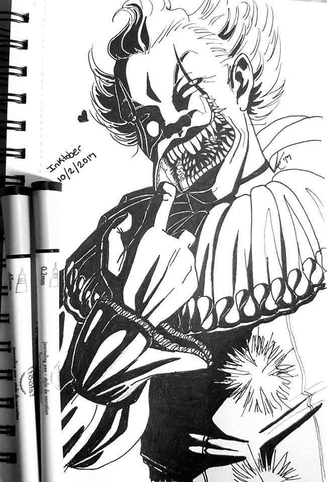 Ink/Goretober Day 2