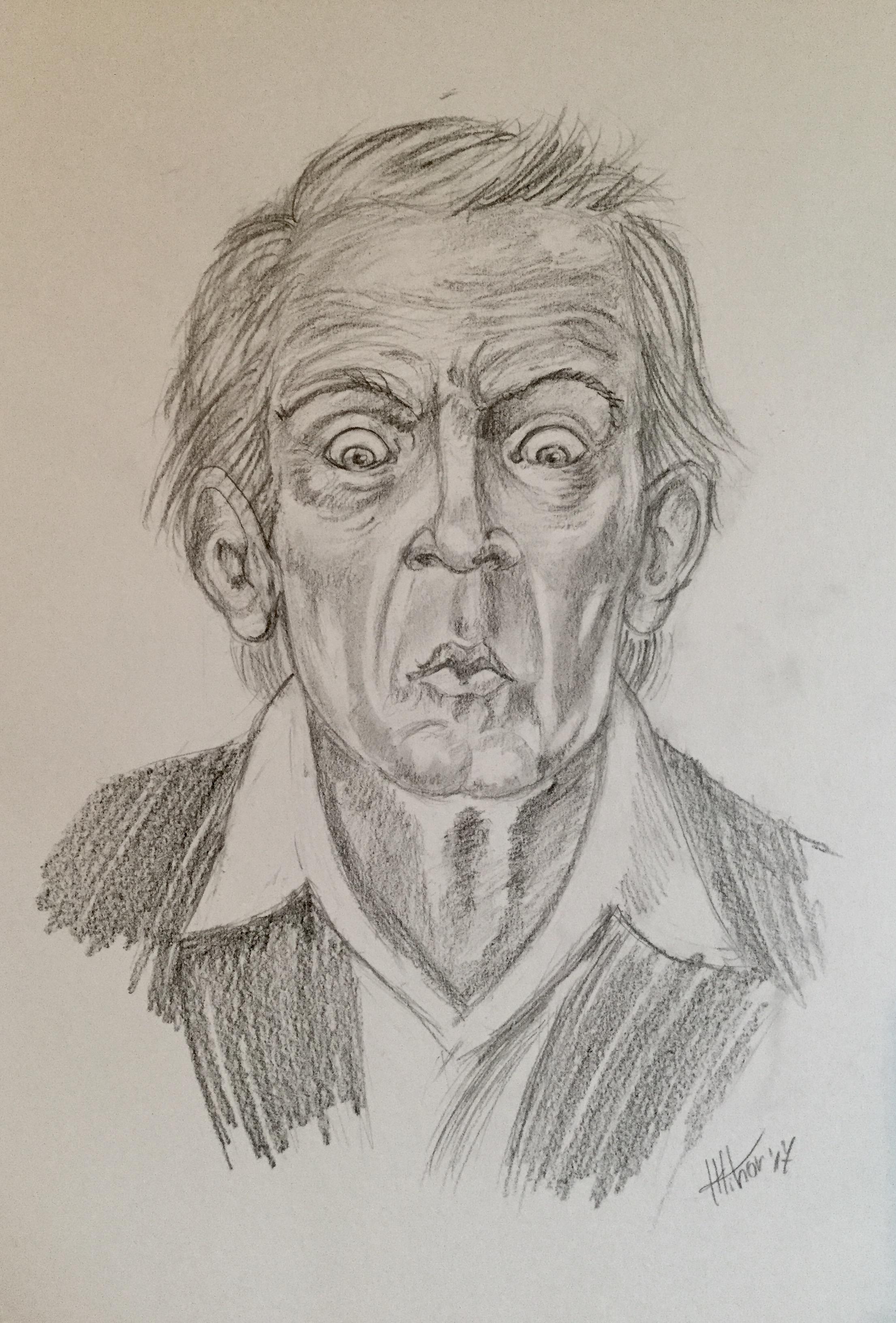 Old man study nr#2