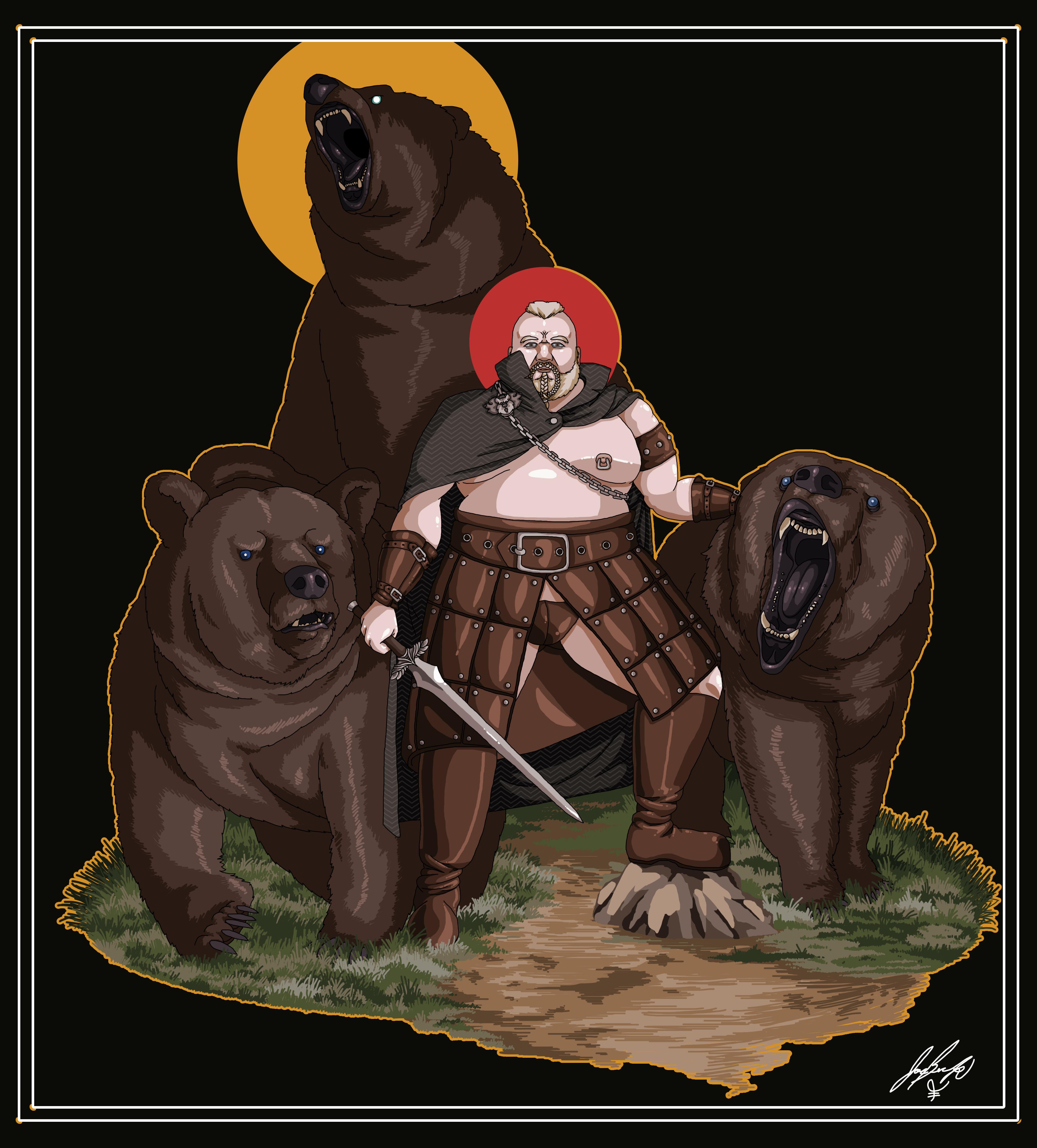 Bears of Thrones: Danny the Bear-Born