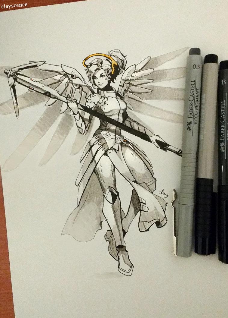Mercy. inktober