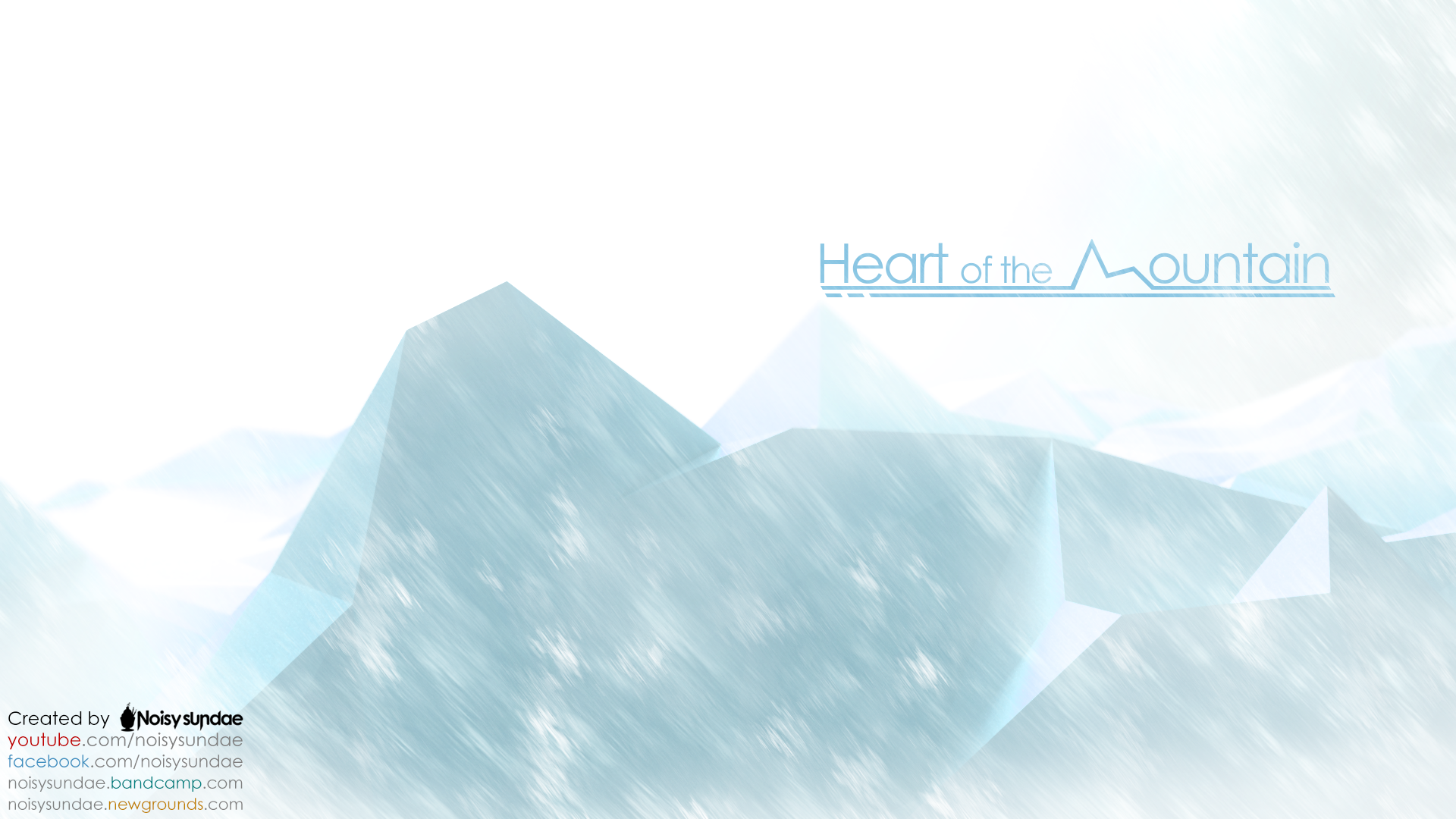 Noisysundae wallpaper - Heart of the mountain