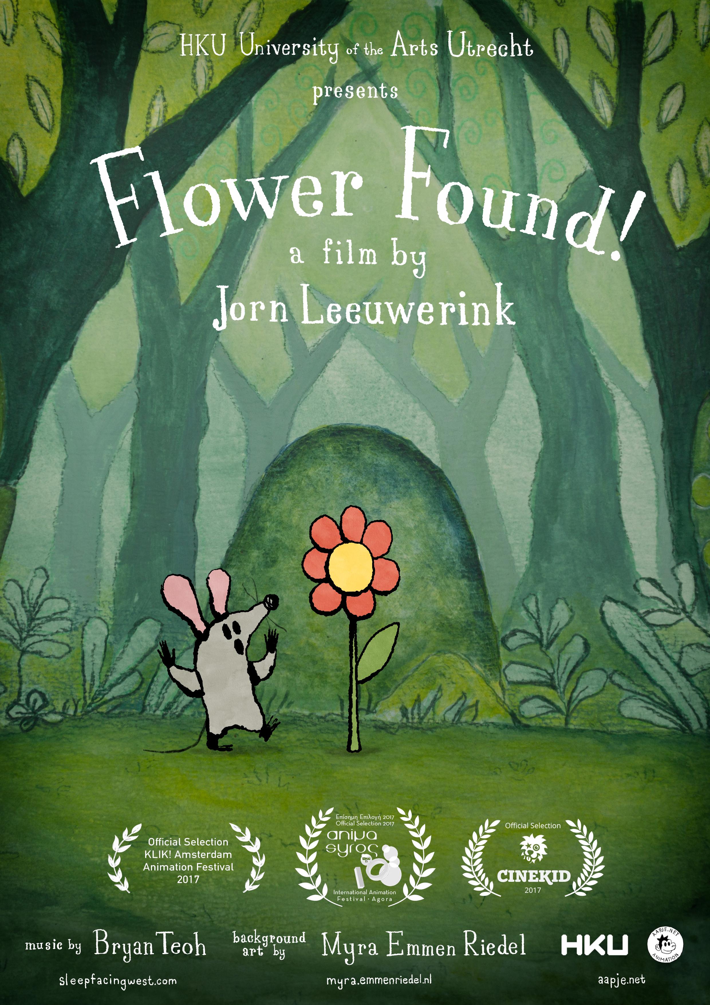 Flower Found! poster