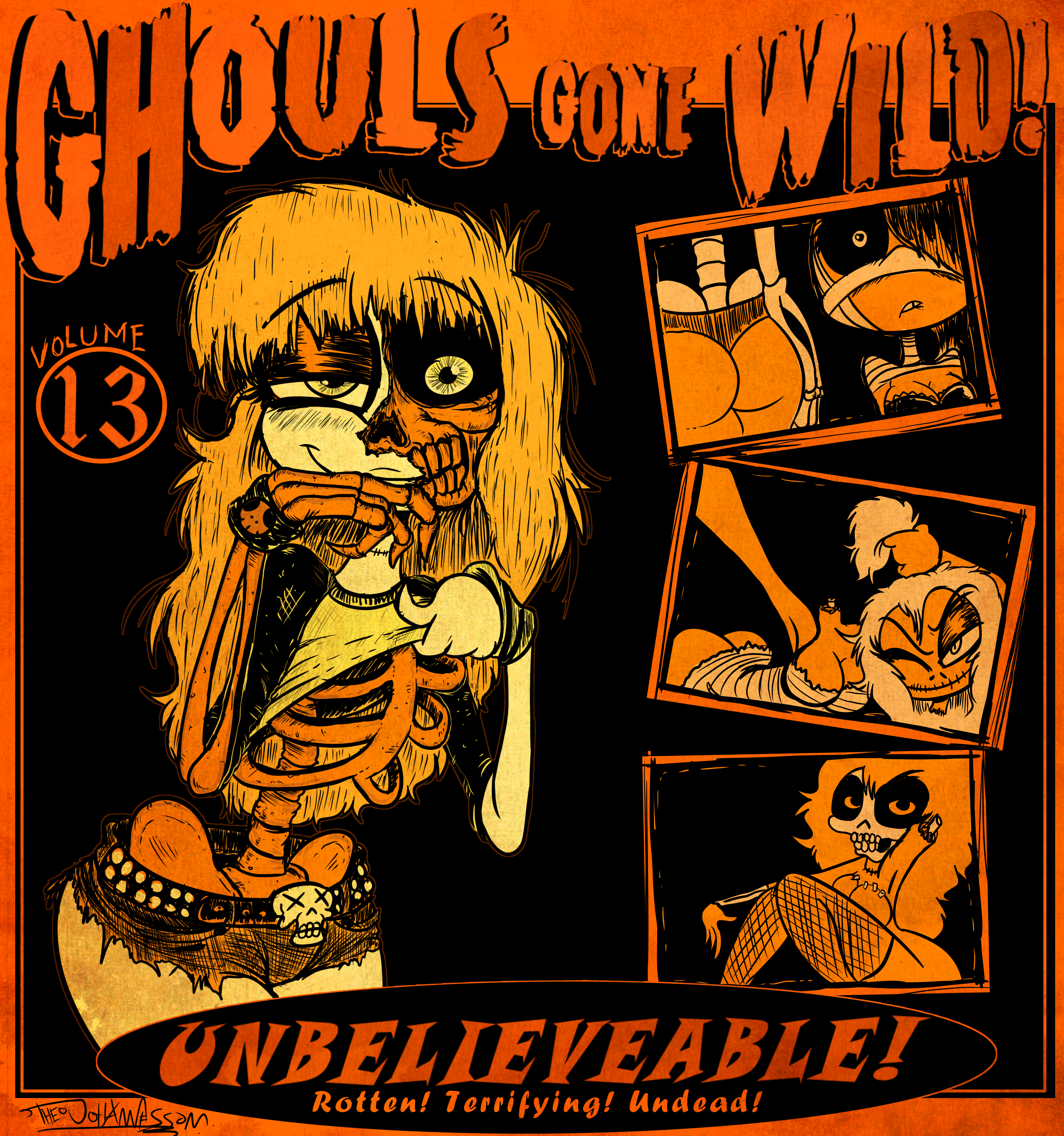Ghouls Gone Wild!