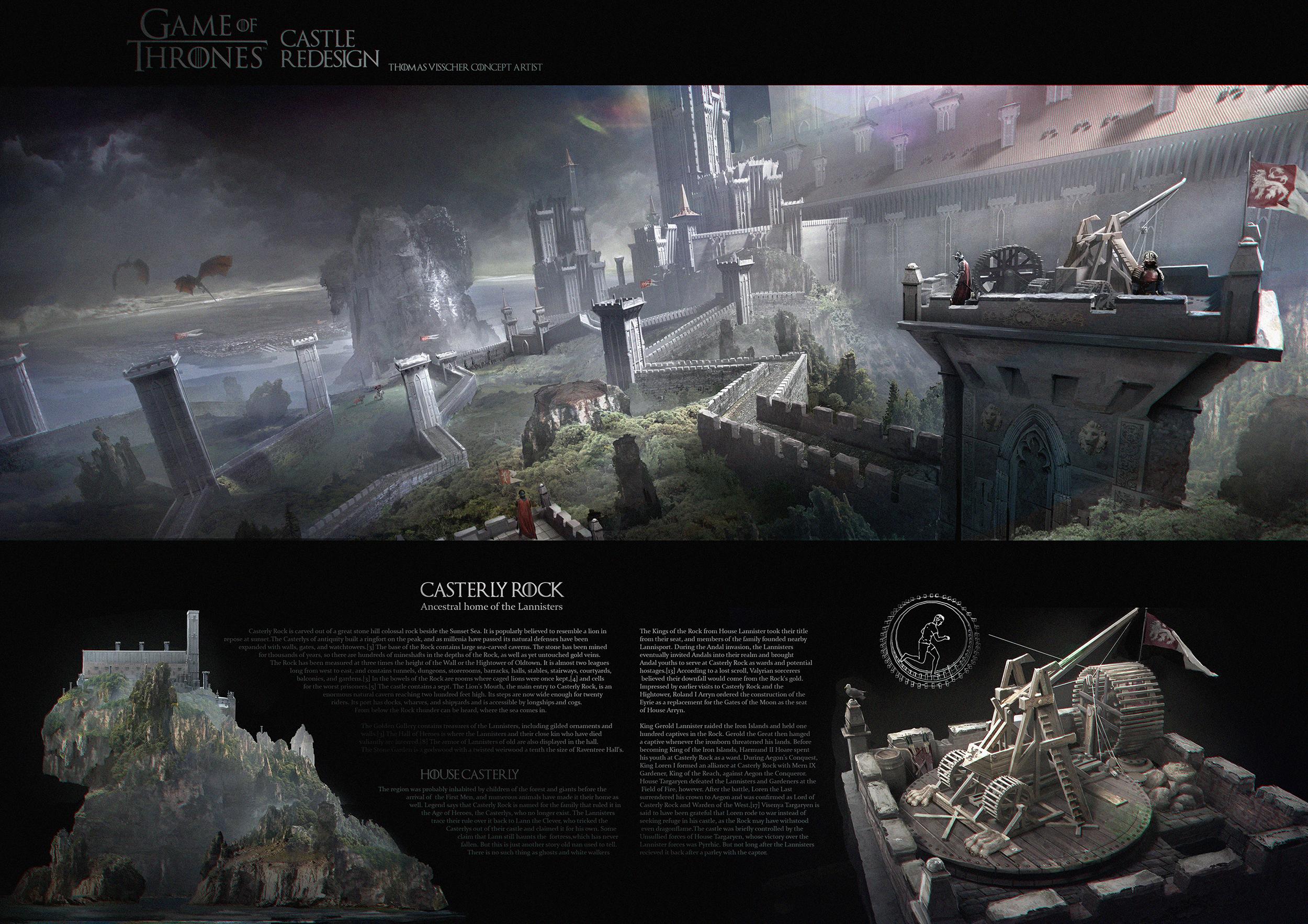 Casterlyrock redesign