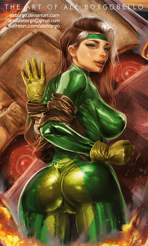 Rogue from X-Men - Patreon