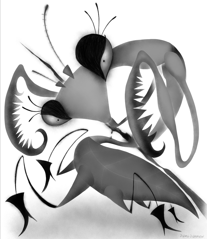 Impaled Mantis