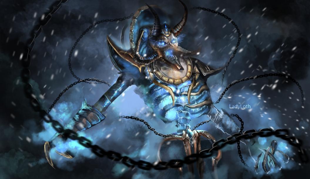 Warcraft Fanart - Kel'Thuzad