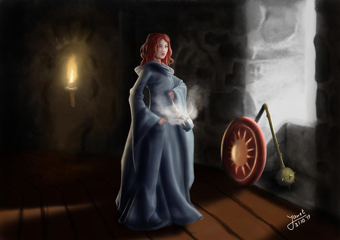 Female Cleric