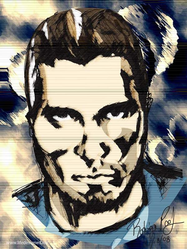 self portrait MGS style