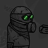 Gas Mask Soldier Concept #1