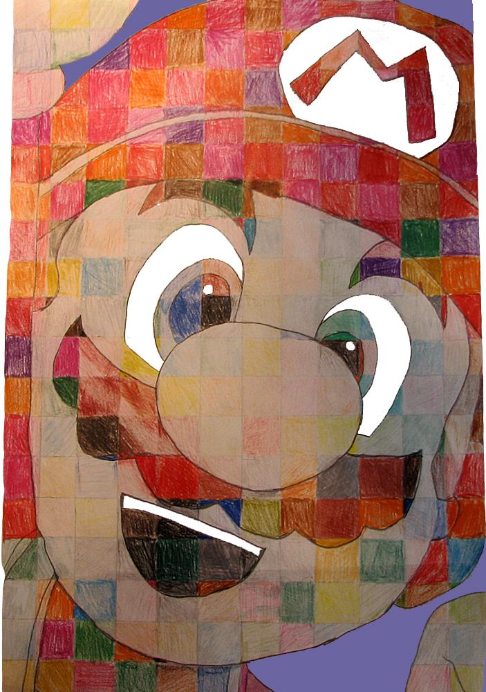 """""""Mosaic"""" Mario"""
