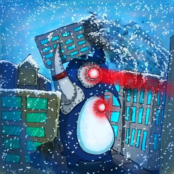 Bionic Penguin Attack!