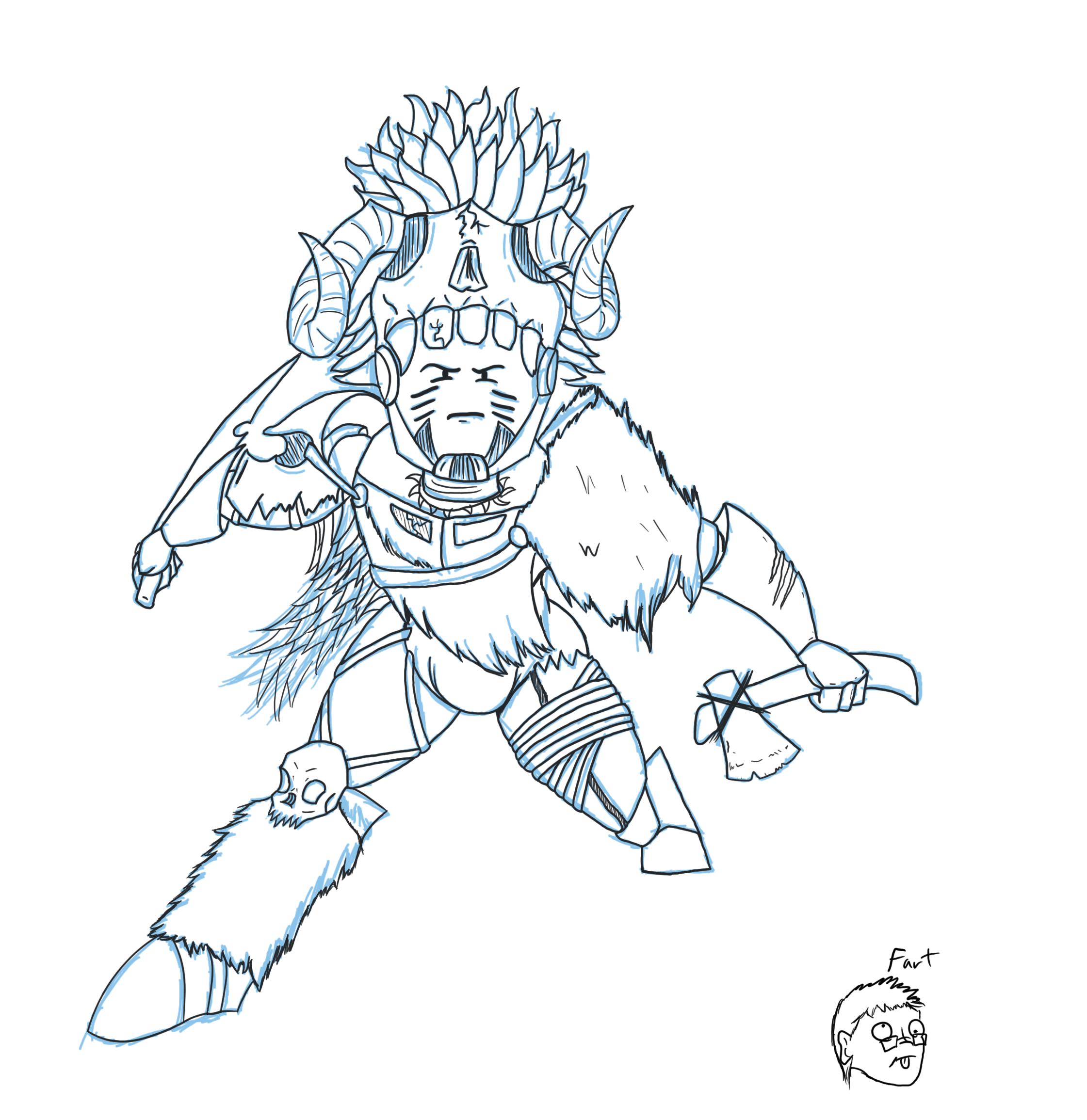 emmy barbarian rough