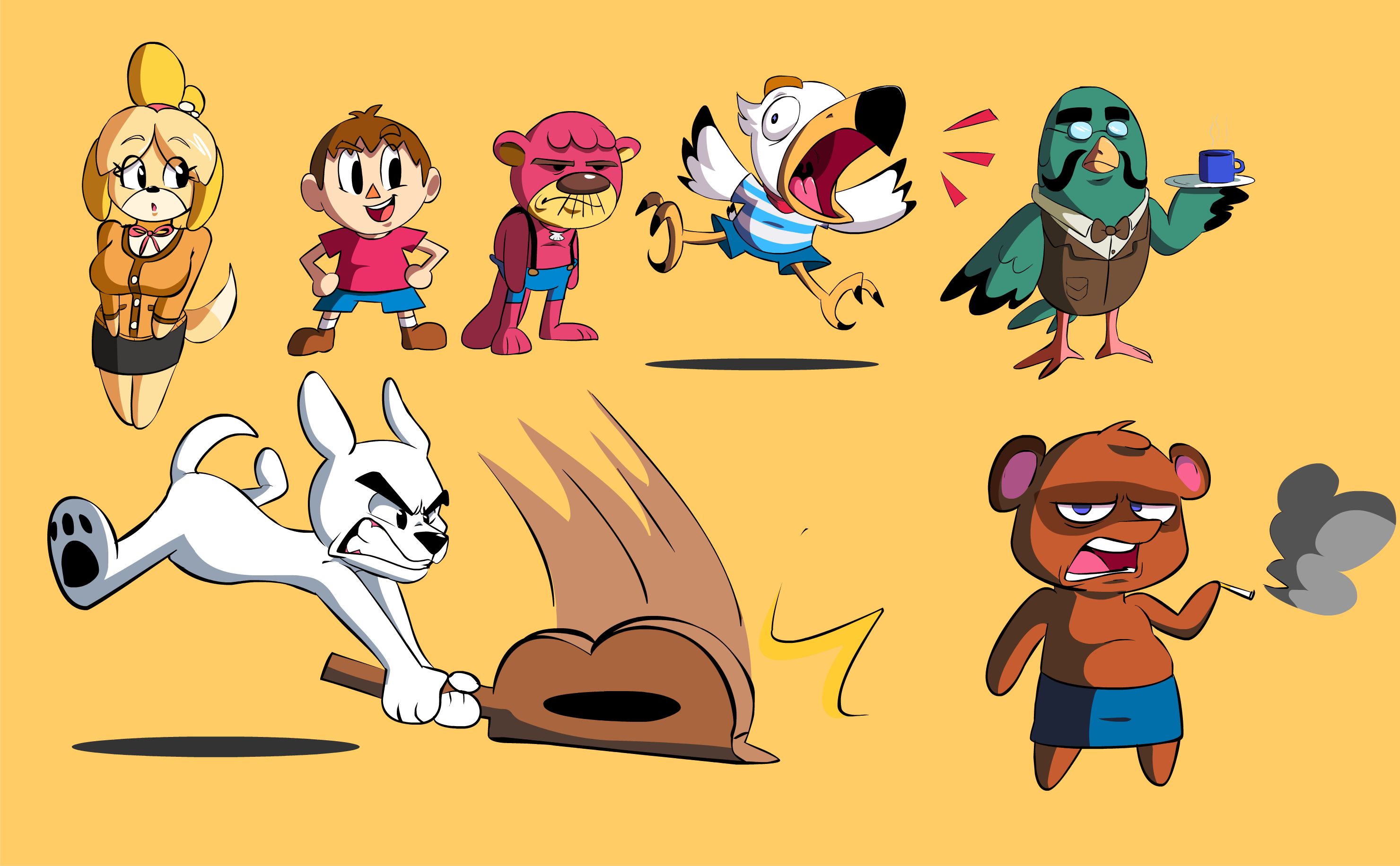 animal crossing doodz