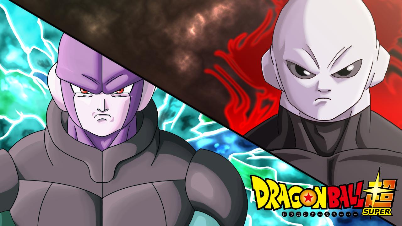 Jiren Vs Hit Eye Catch Dragon Ball Super Fan Art By Lutbarg On