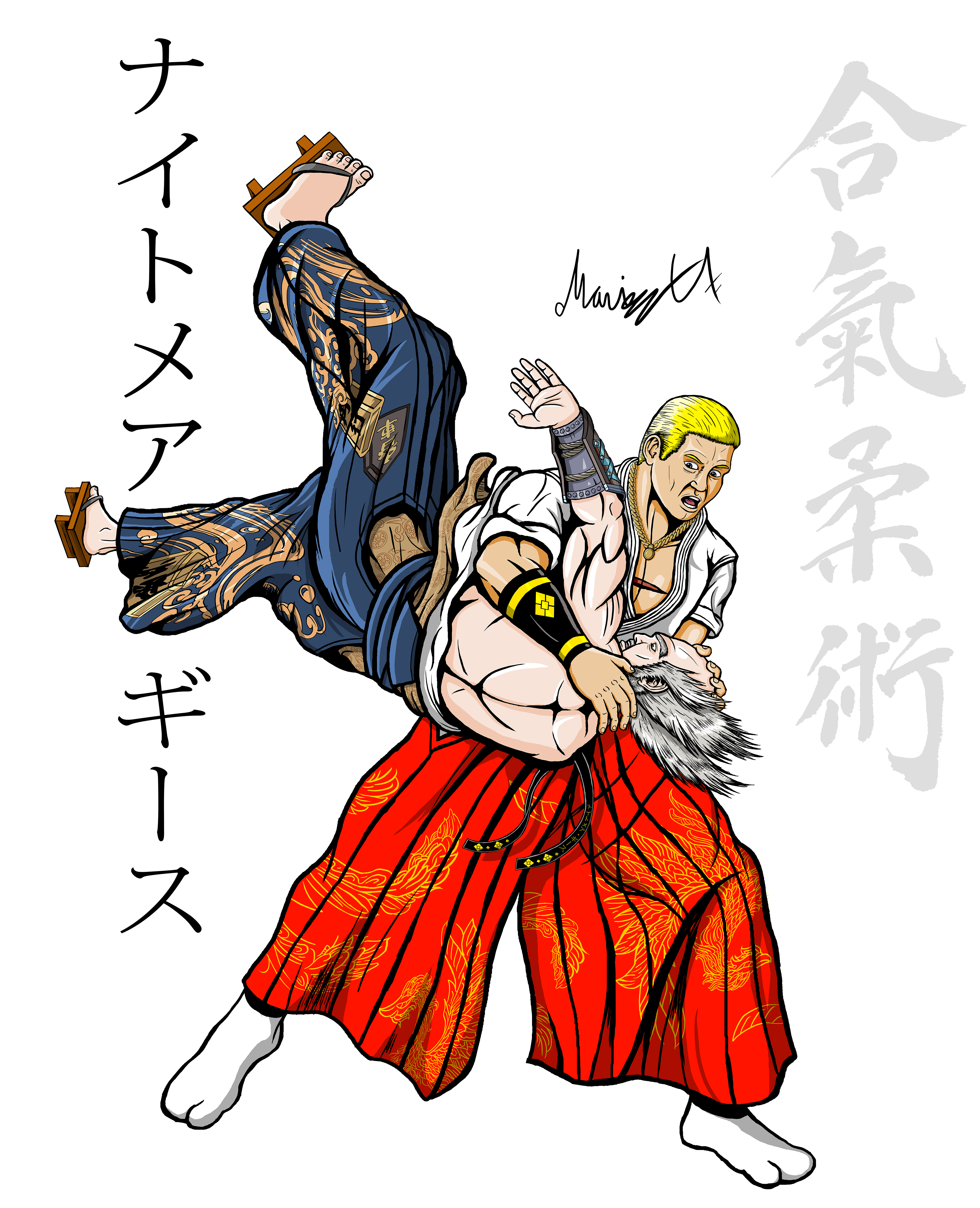 Geese Howard Doing Tenchi Nage On Heihachi Colored By Emokid64 On Newgrounds Tekken 7 geese vs king of fighters 14 geese, who is the better geese in your opinnion? newgrounds com