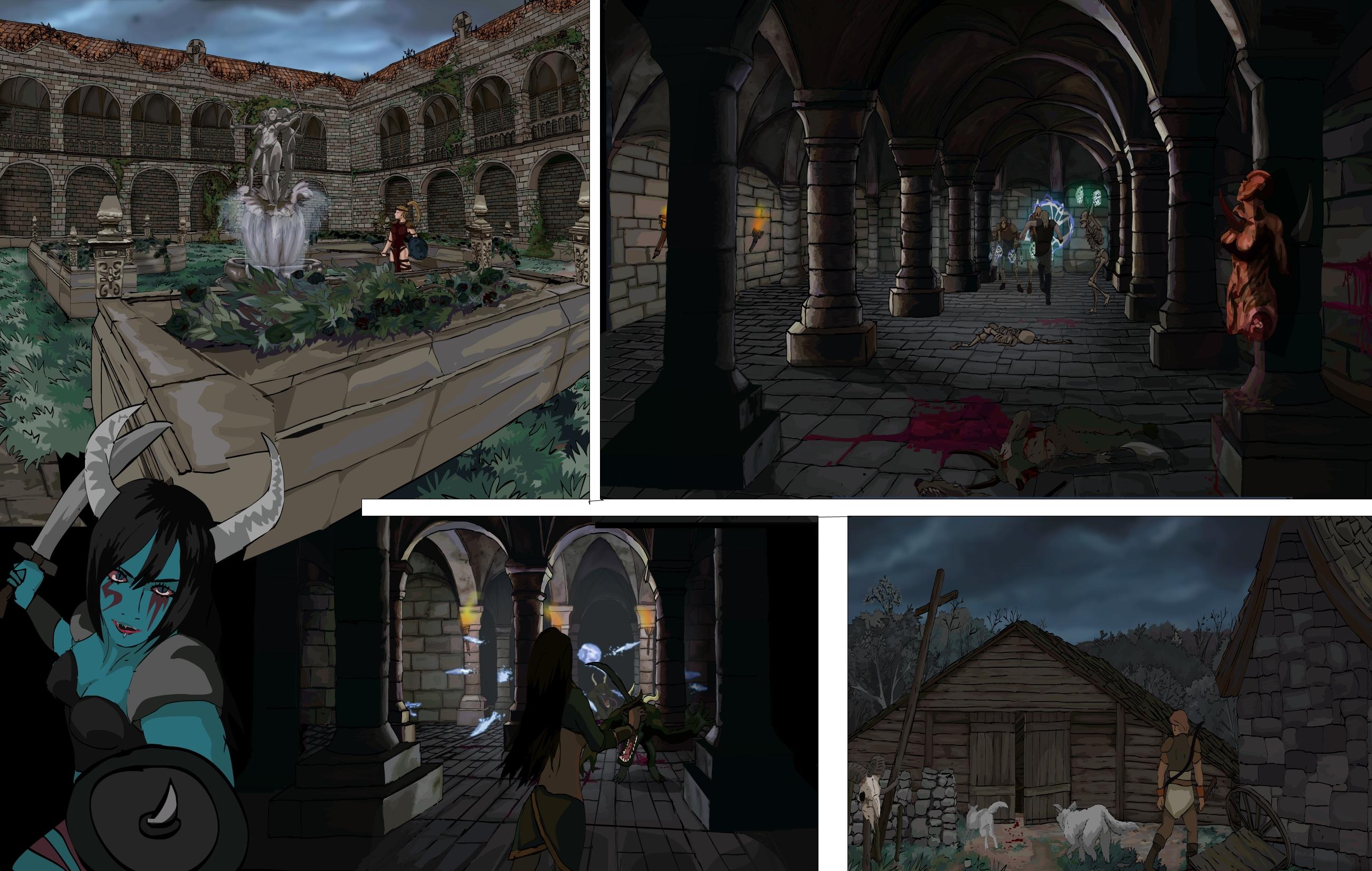 Diablo II Anime concept.1