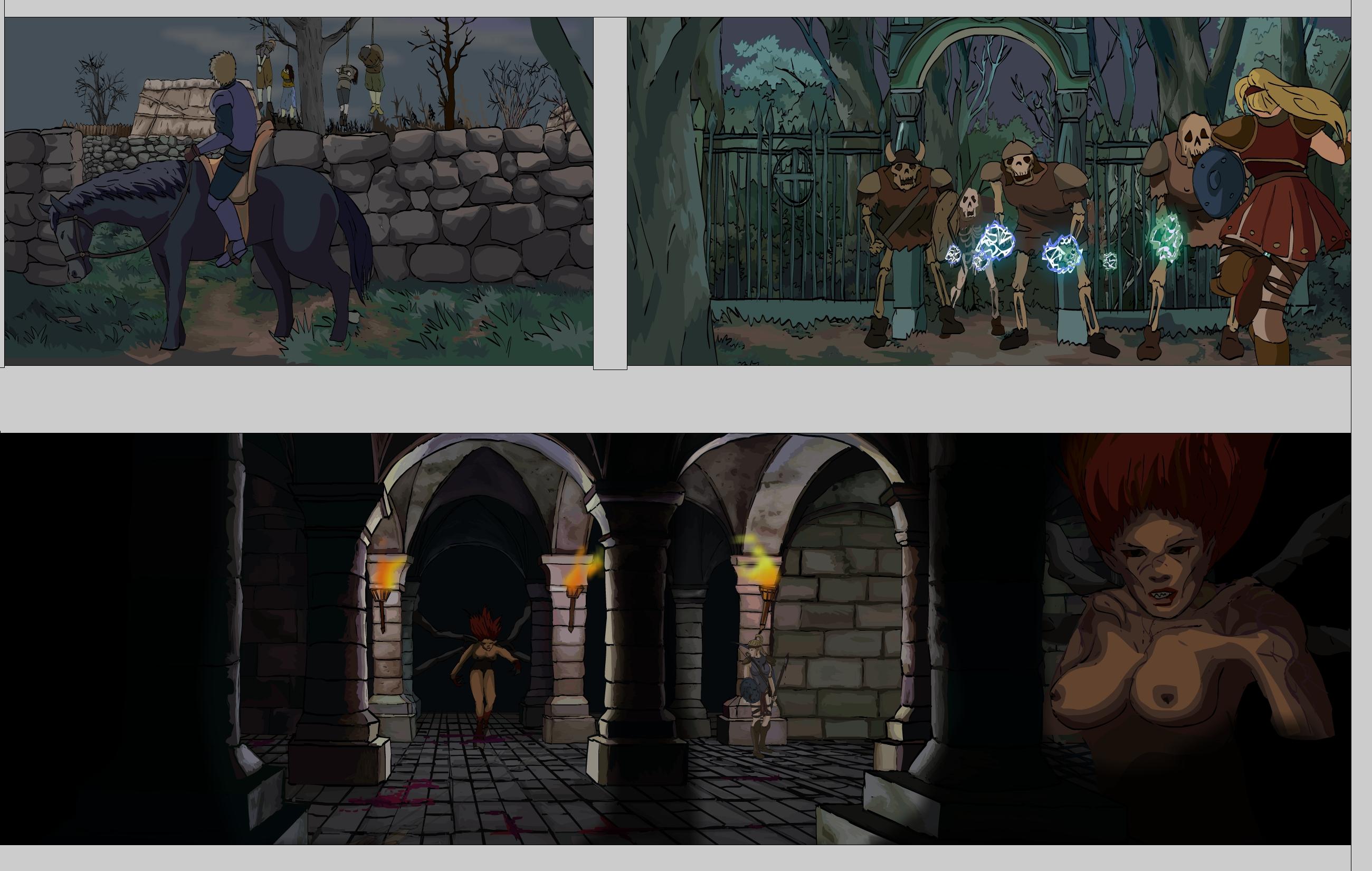 Diablo II Anime concept.2
