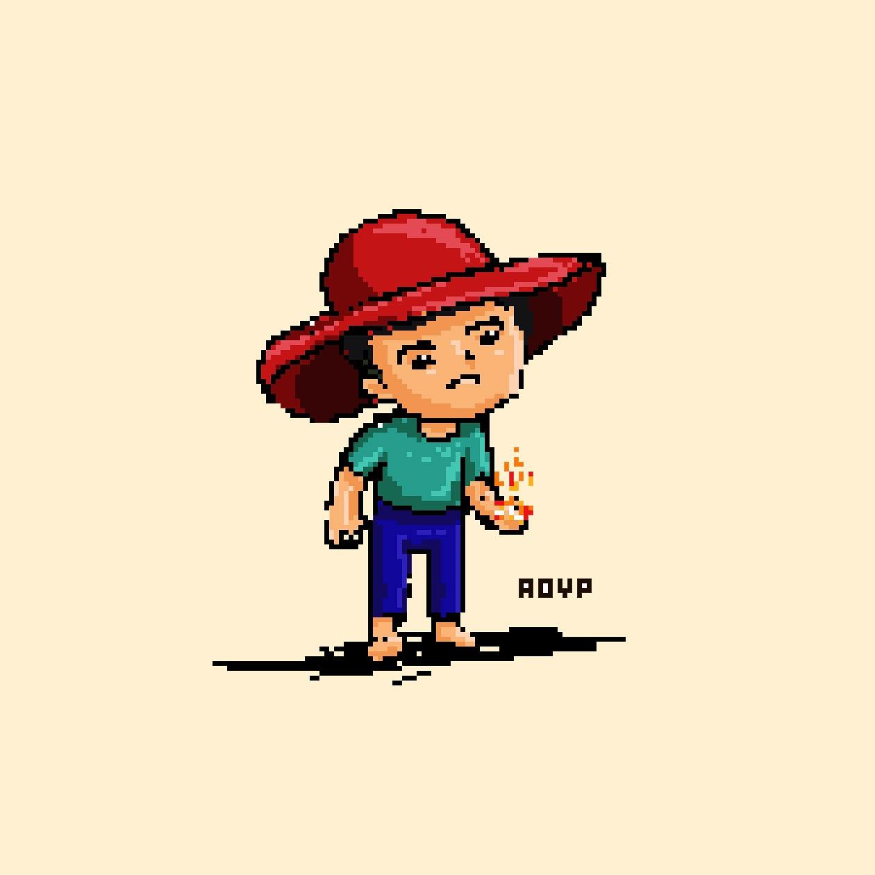 Red hat boy