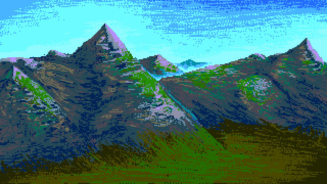 Pixel Mountains