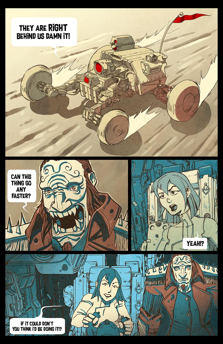 The Blast Car