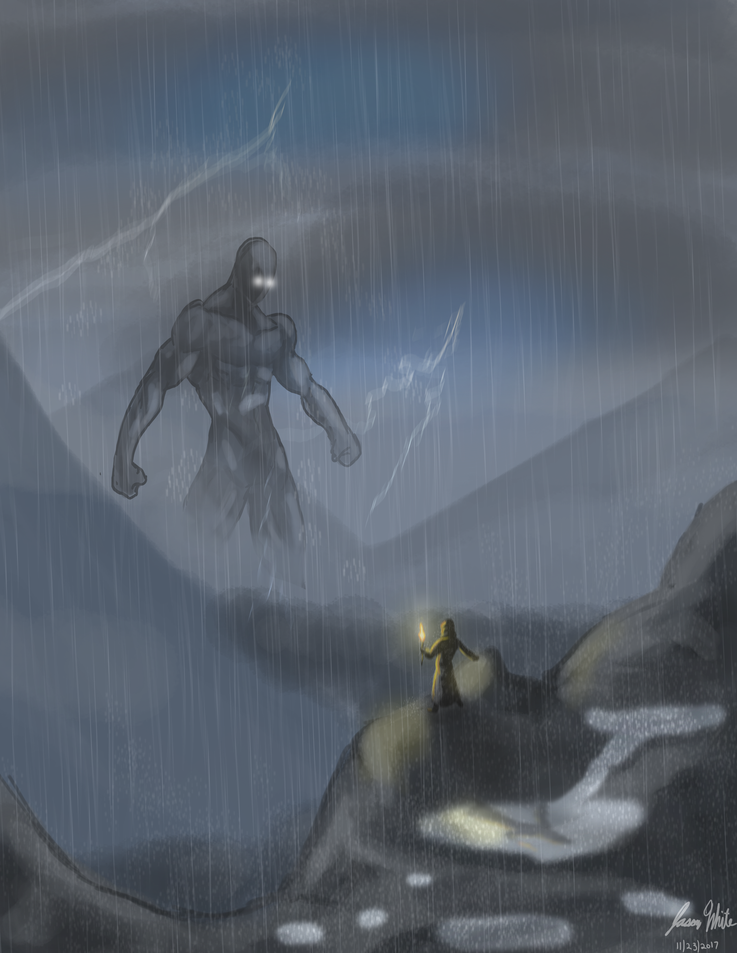 Distant Titan