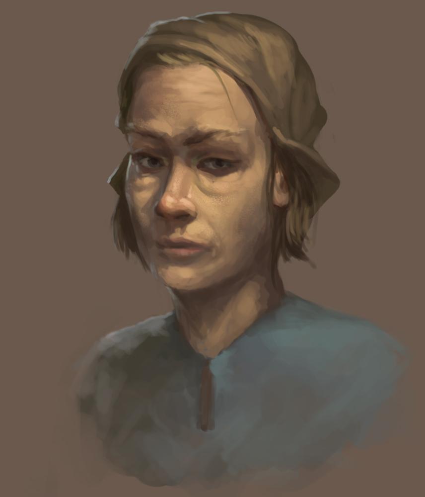 Random portrait practice