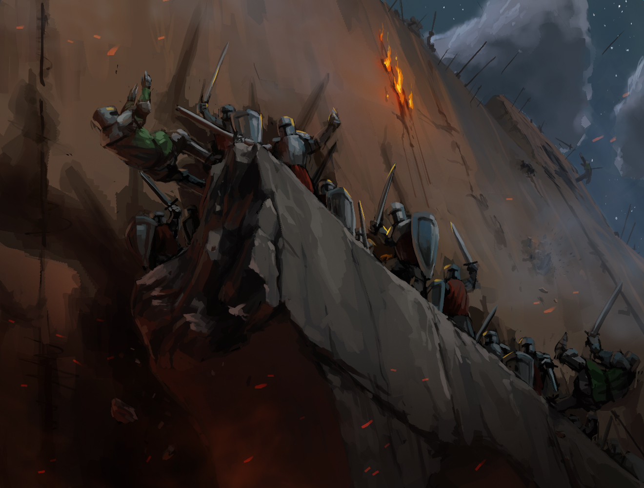 Siege - with painting video