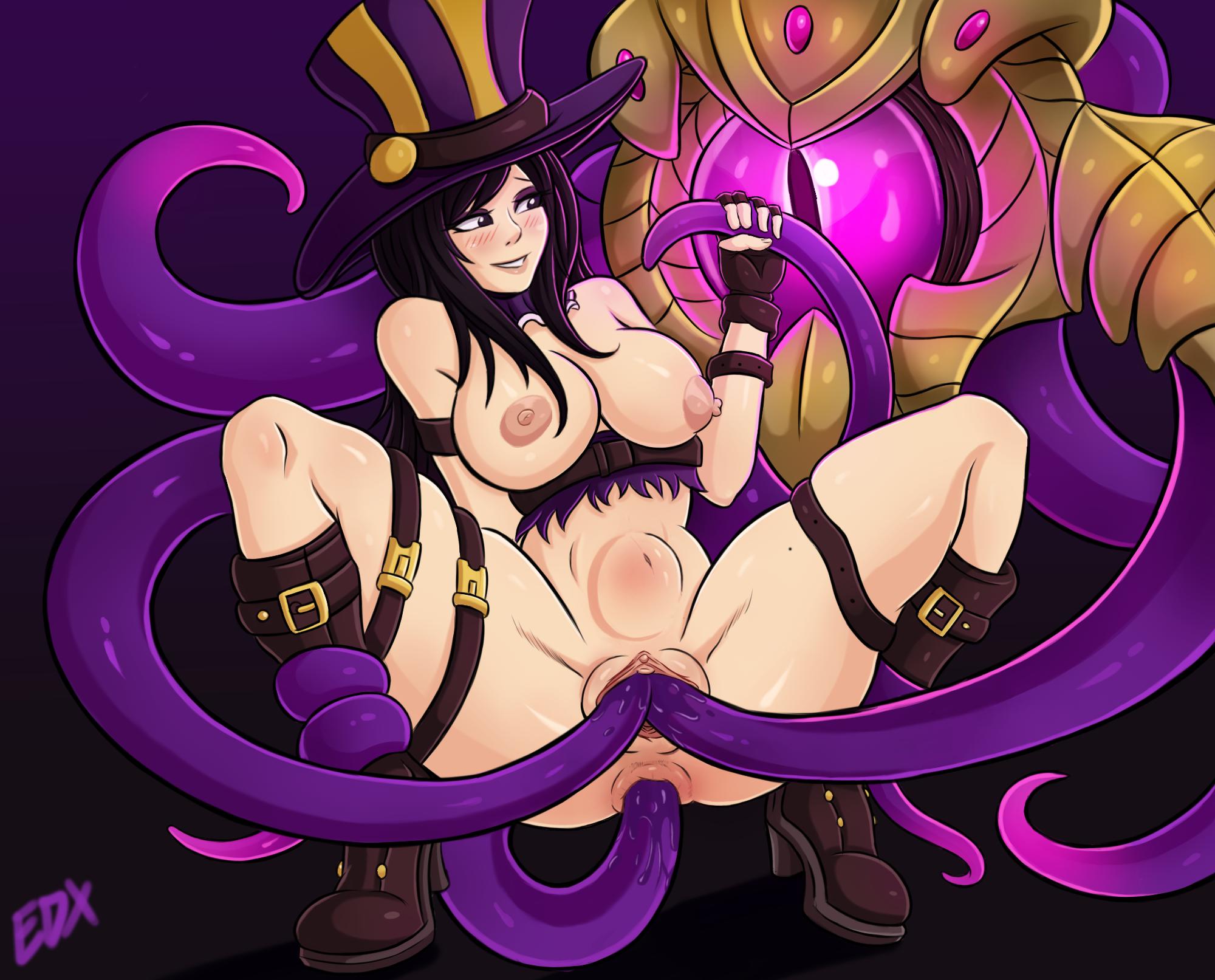 Caitlyn Loves Velkoz tentacle