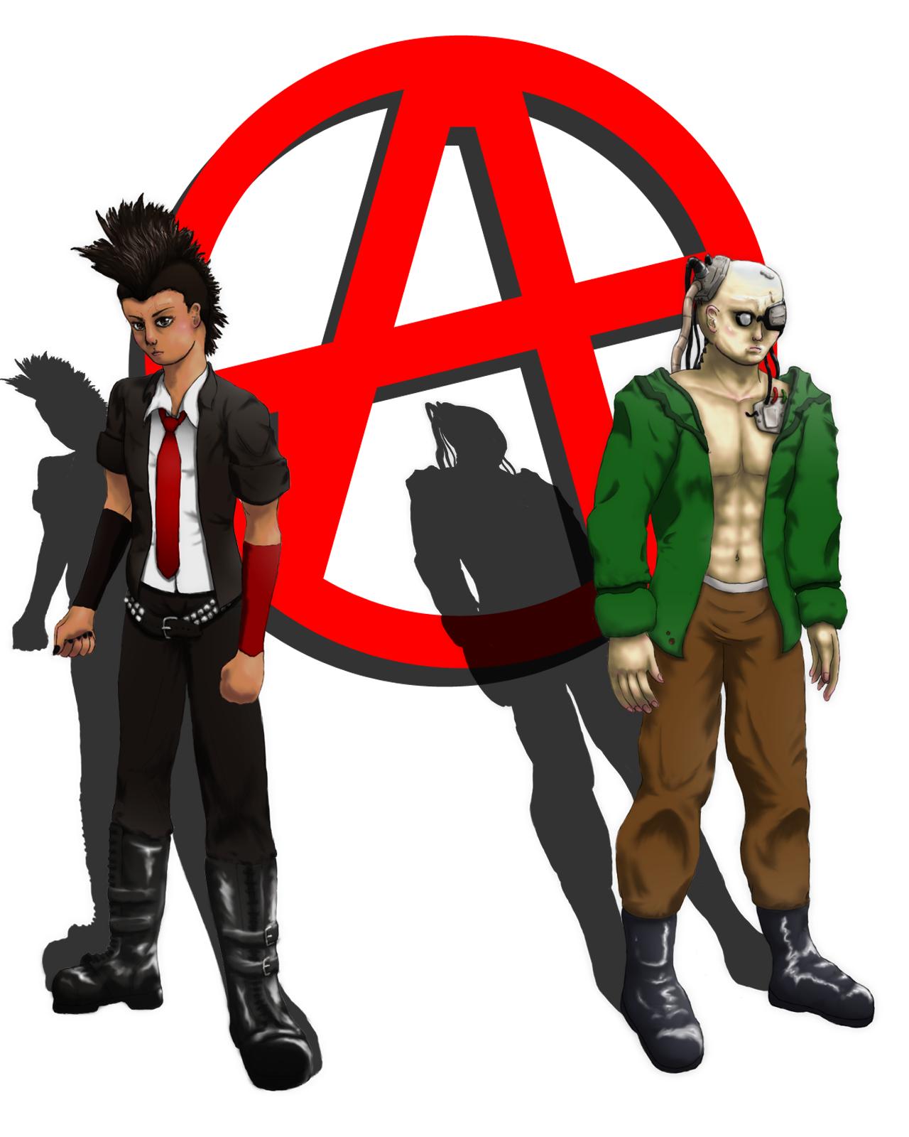 GCD: Main Characters