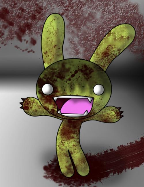 Tombie The Zombie Bunny